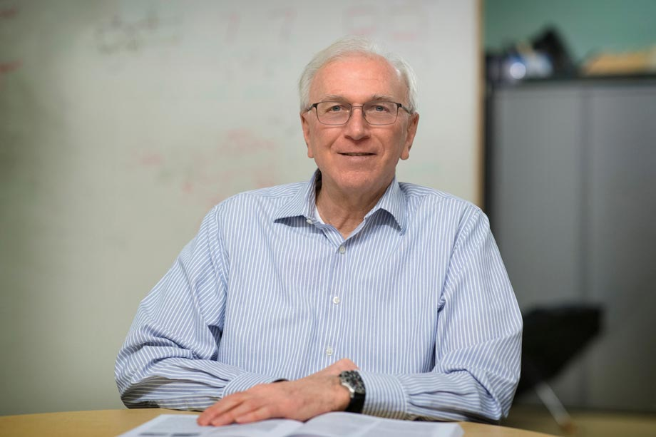 John A. Stankovic, the BP America Professor of Computer Science, was honored for his longtime, excellent mentorship of faculty colleagues. (Contributed photo)
