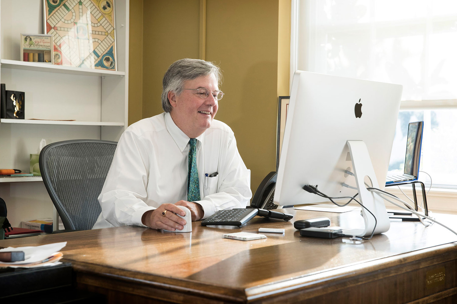 John Unsworth began his tenure as the new university librarian and dean of libraries in June.