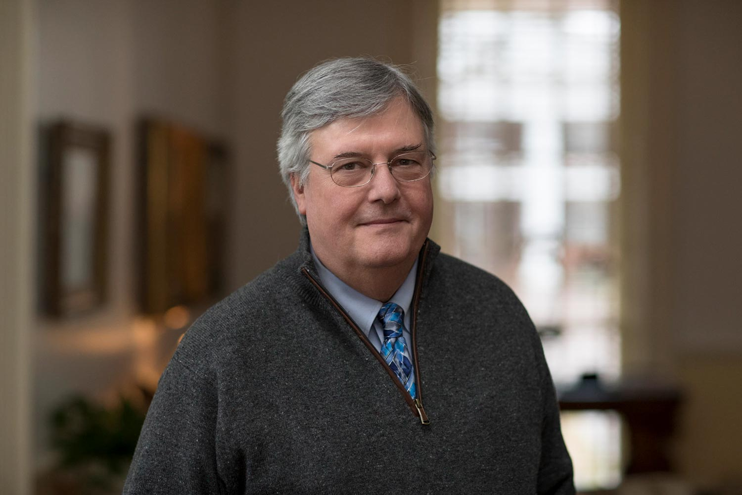 John Unsworth, University librarian and dean of libraries.