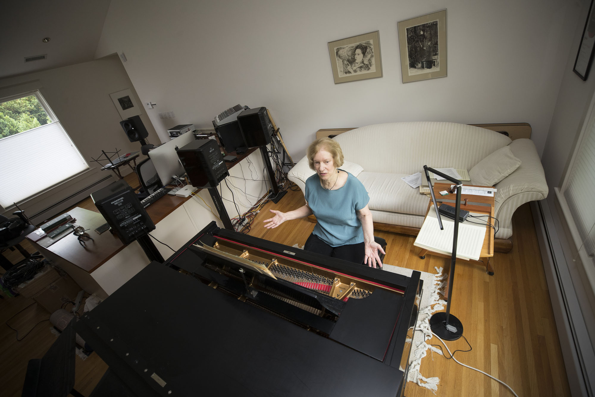 Though she retired from the McIntire Department of Music at the end of the academic year, Shatin plans to remain involved in the department and continue her work as a composer. She is already hard at work on several commissions.