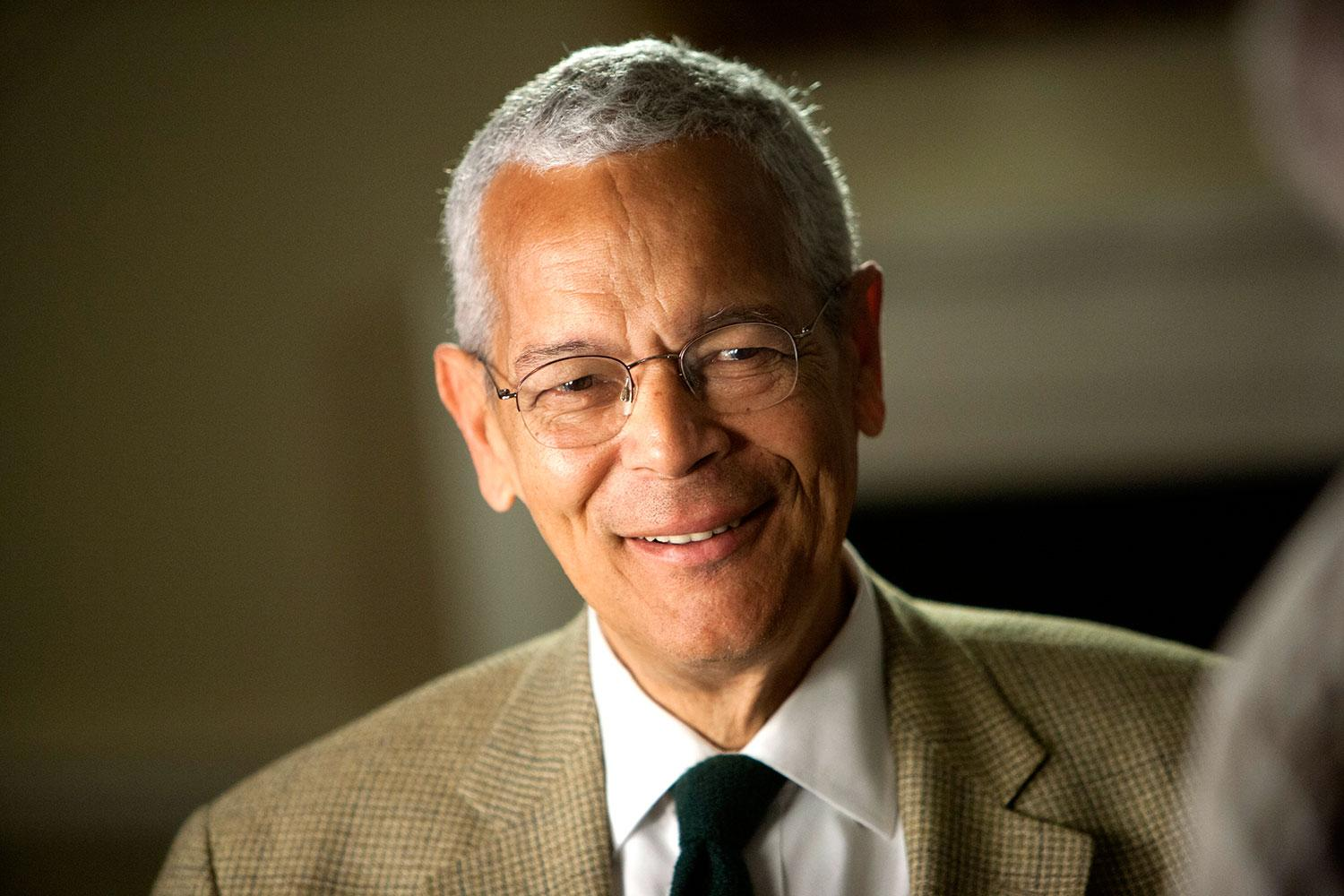 """The late civil rights icon Julian Bond taught at UVA from 1992 to 2012, when more than 5,000 students took his popular """"History of the Civil Rights Movement"""" seminar."""