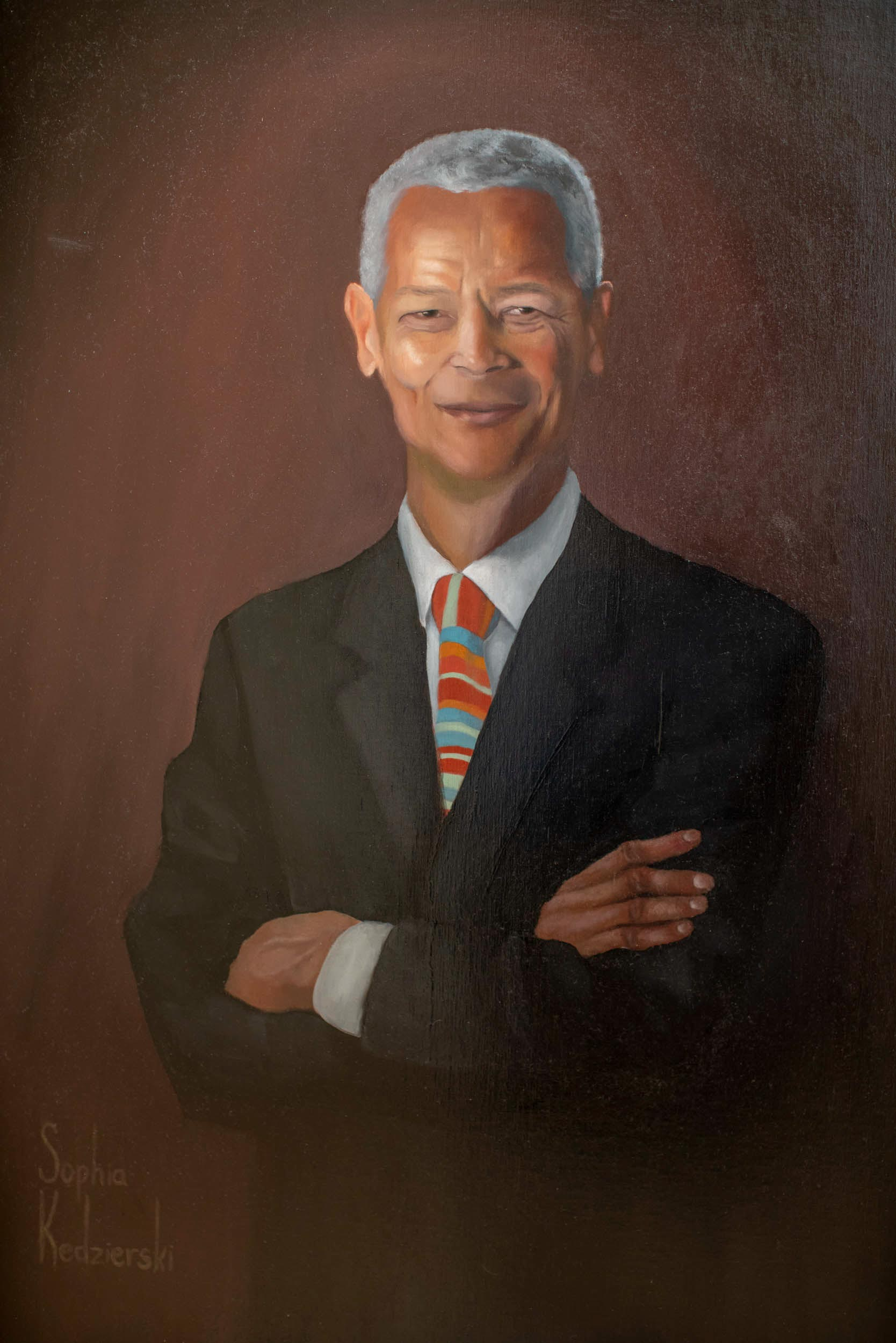 Civil rights champion Julian Bond taught at UVA for 20 years, and now his portrait will be displayed in the residence hall named after him.
