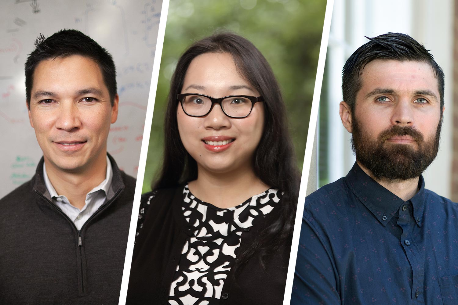Engineering researchers Kamin Whitehouse, Lu Feng and Cody Fleming are teaming to make wireless communication between moving autonomous vehicles safe enough for the technology to realize its potential.