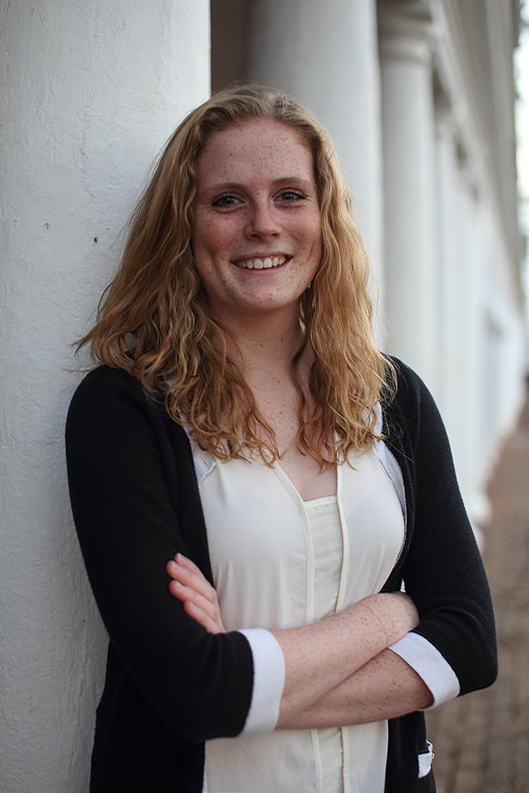 McGinn is a third-year commerce student who used her fellowship to intern with Ashoka.