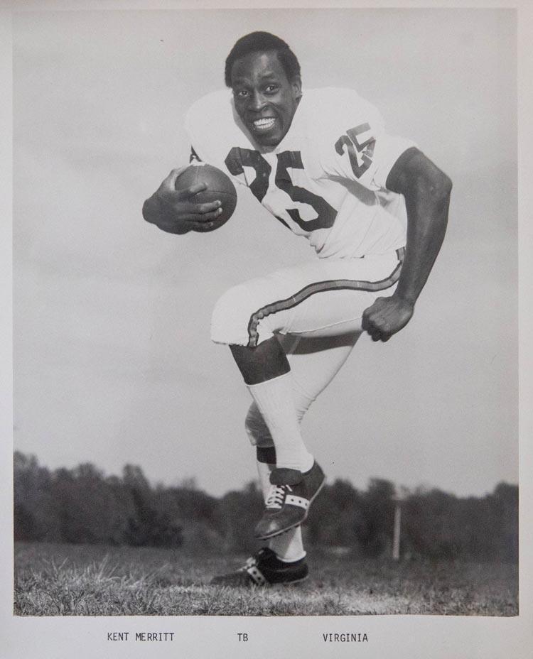 Merritt, the first black class president in Lane High School history, chose UVA over multiple football suitors.