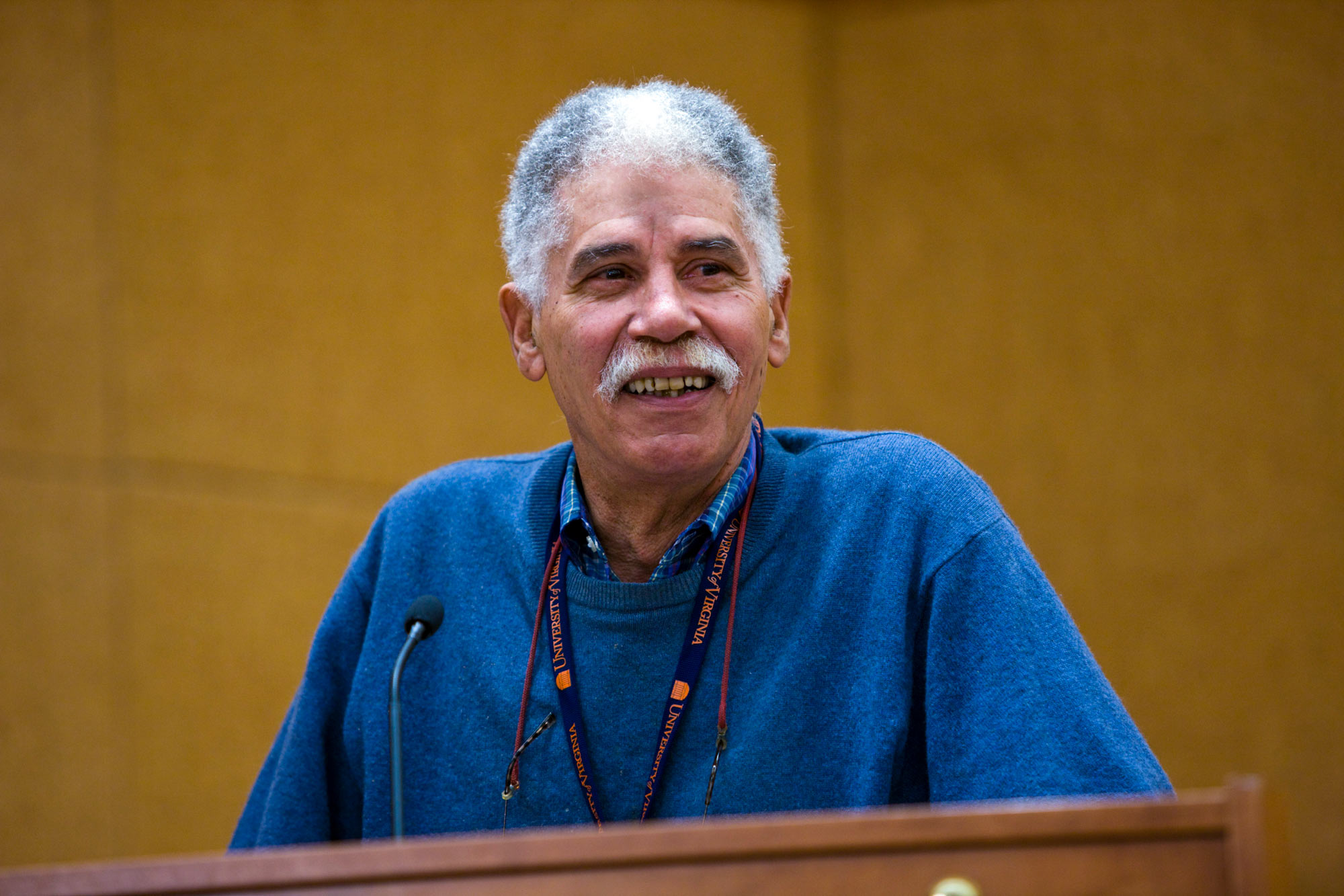 John F. Merchant, who became the School of Law's first black student to graduate in 1958, returned to a special alumni reunion for pioneering African-American students in 2009.