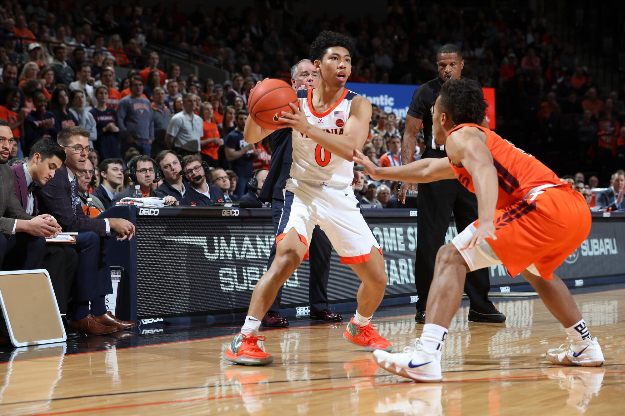 Clark, who leads UVA in assists, has also showed his selfless side off the court.