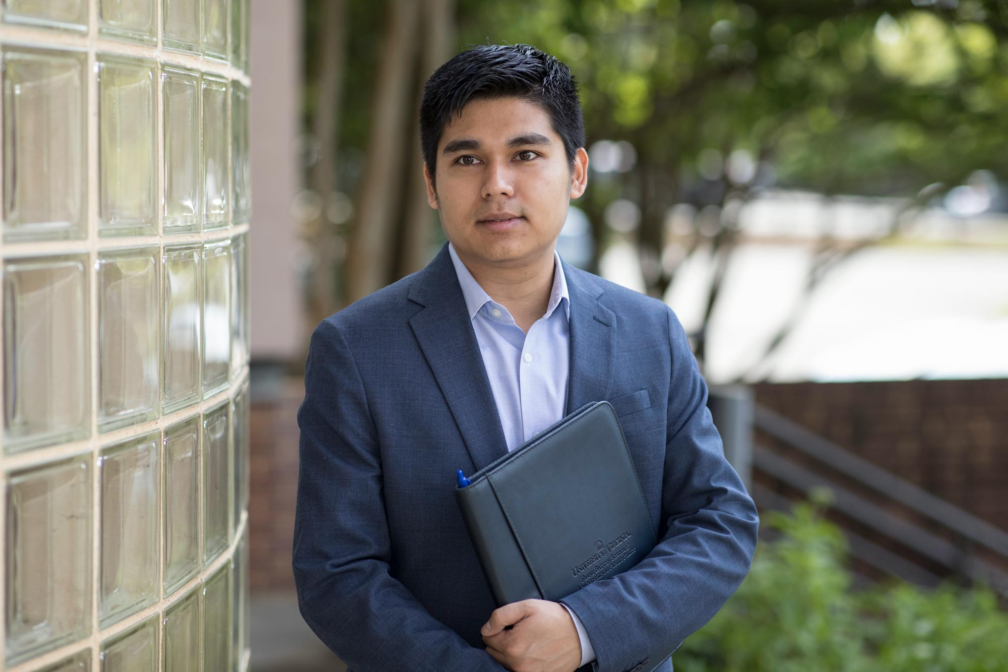 The Cooper Center's Kyaw Khine predicts jobs in Virginia's tourism and hospitality industry will continue to grow over the next six years. (Photo by Dan Addison, University Communications)