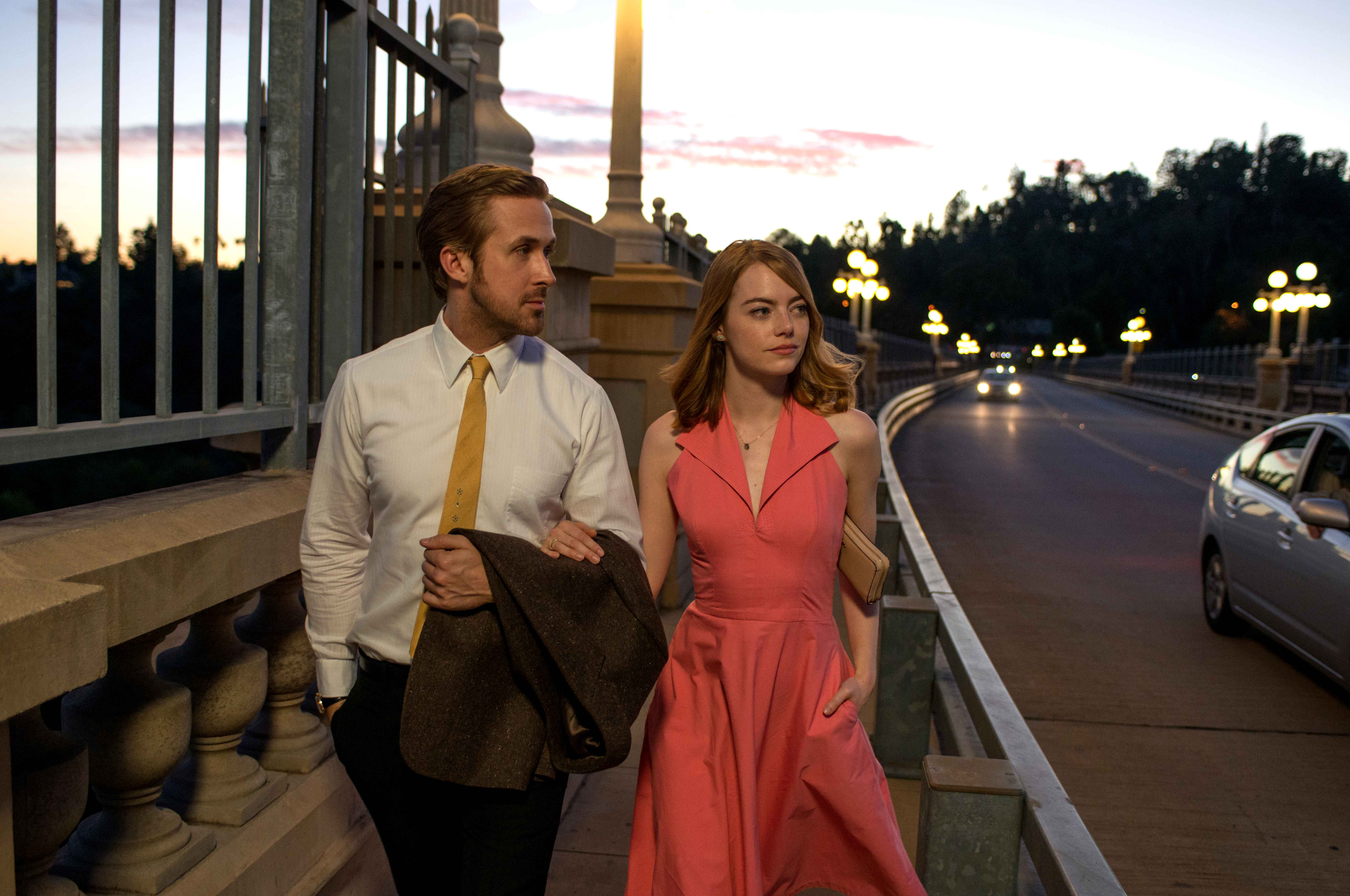 "The festival will close Sunday with a screening of ""La La Land,"" starring Ryan Gosling and Emma Stone."