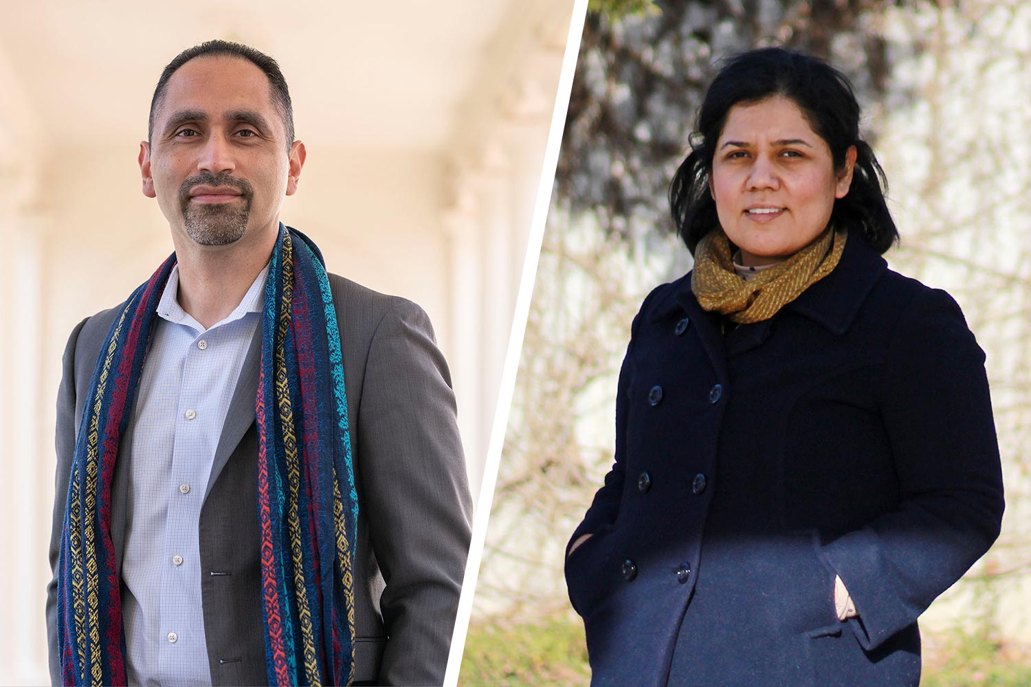 Edgar Lara and María Esparza Rodríguez are working to build a leadership program to mentor future Latinx leaders in the Charlottesville community. (Photo by Sanjay Suchak, University Communications; contributed photo)