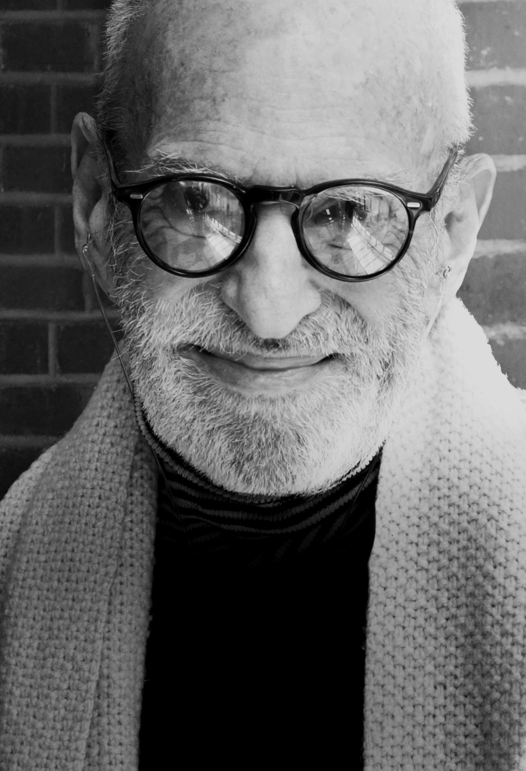 Gay rights activist and author Larry Kramer.