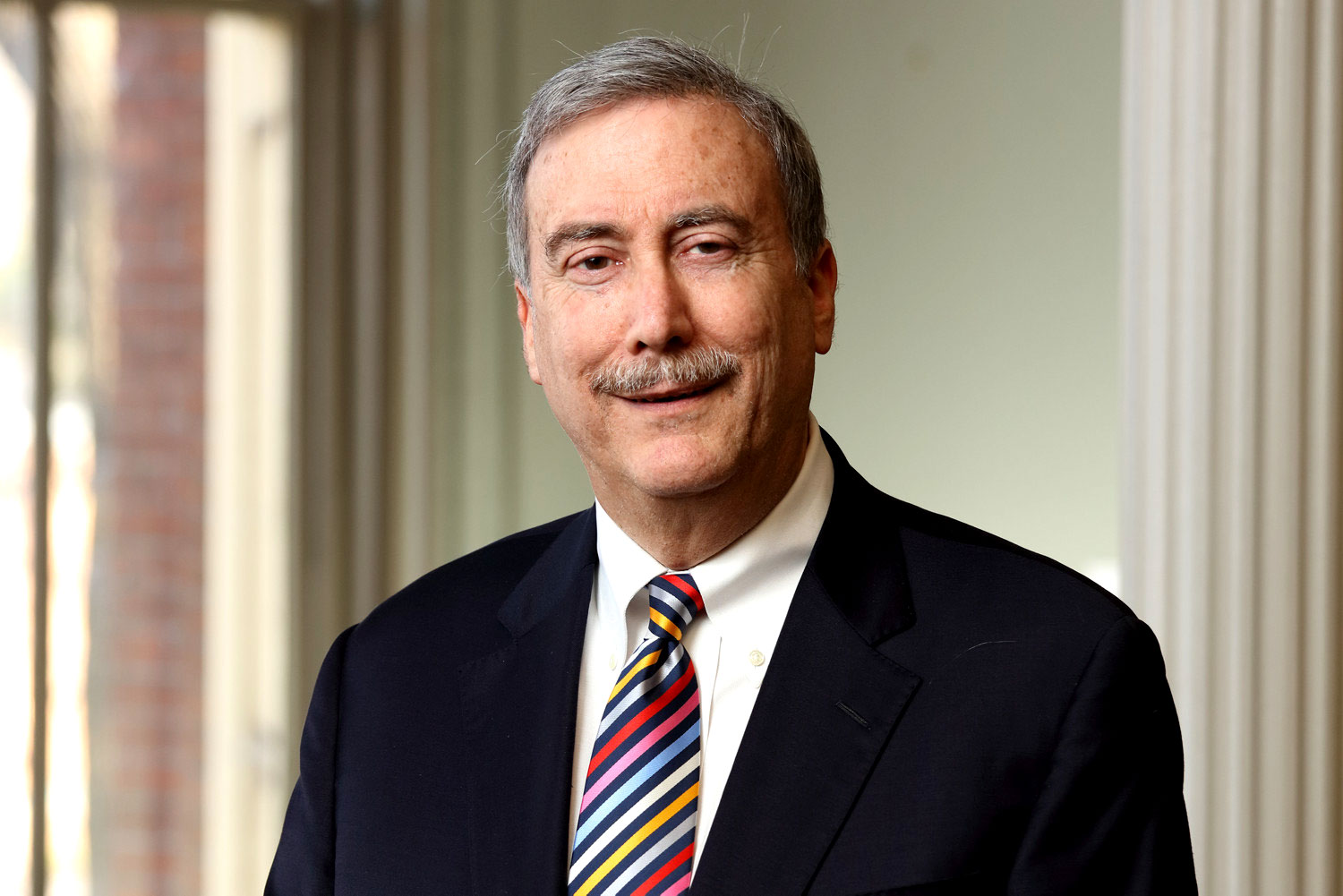 Renowned political analyst and politics professor Larry Sabato is the founding director of UVA's Center for Politics. (Photo by Dan Addison, University Communications)