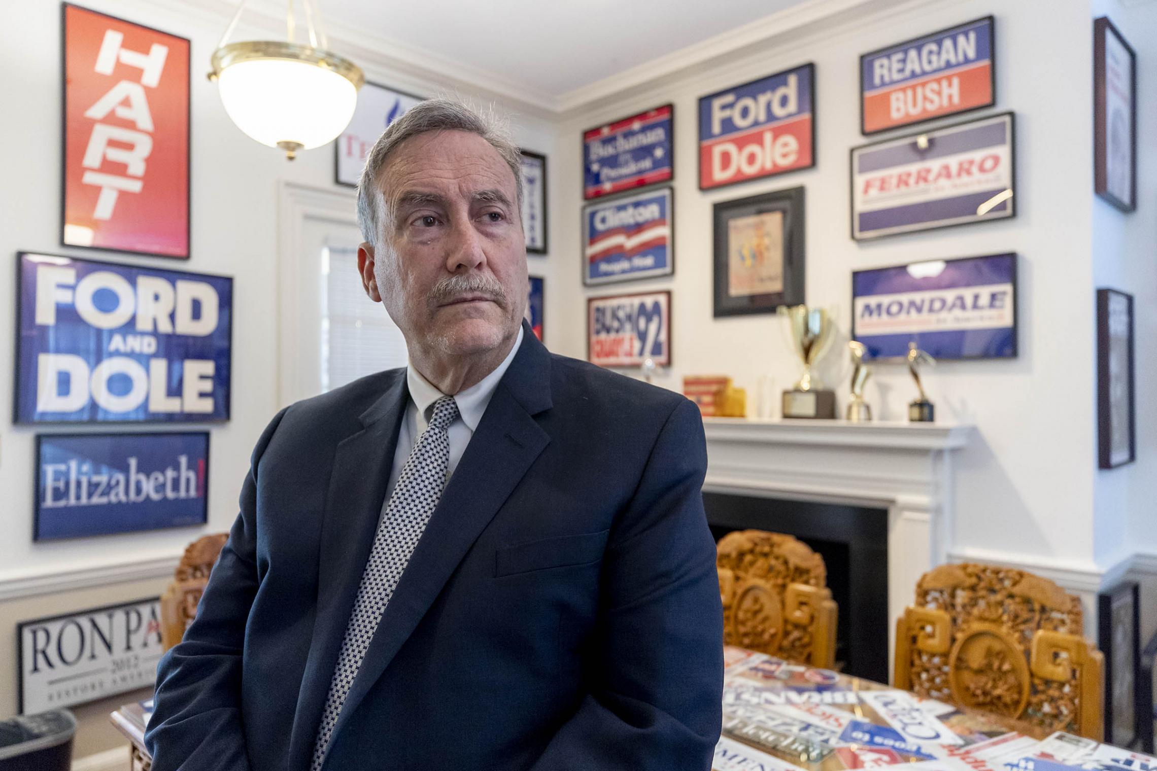 Larry Sabato, founder and director of UVA's Center for Politics, is known for his careful election analysis, both in the classroom and on national news networks.