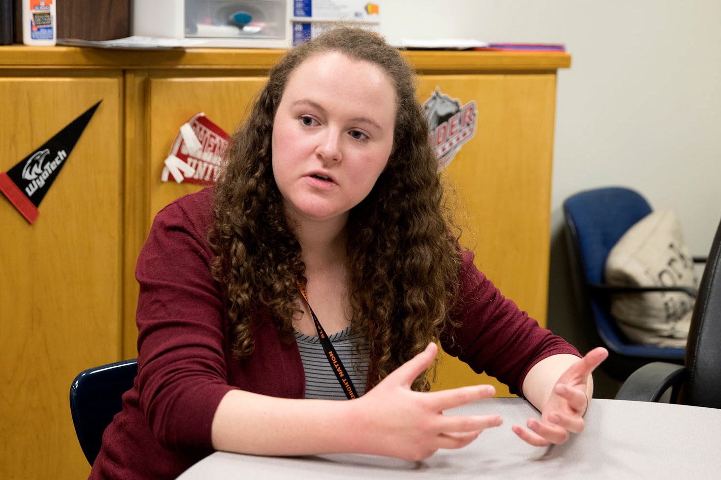 Laura Widener is Charlottesville High School's VCAC adviser and a 2016 graduate of the College of Arts & Sciences.
