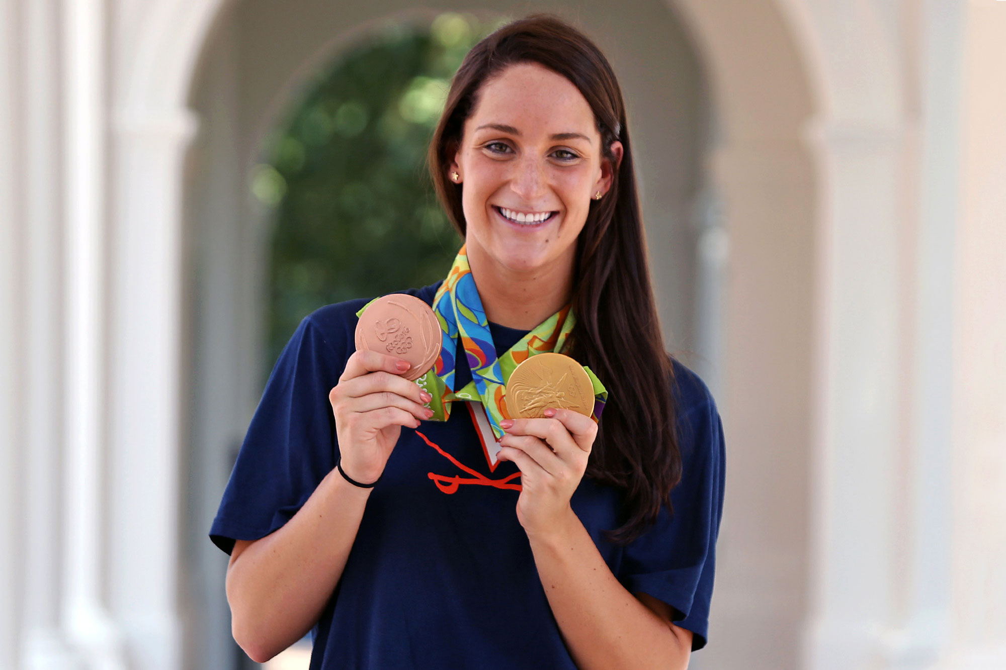 At the Rio Games, Smith won a gold medal as a member of the U.S. women's 800-meter freestyle relay team and a bronze medal as an individual in the 400-meter freestyle.