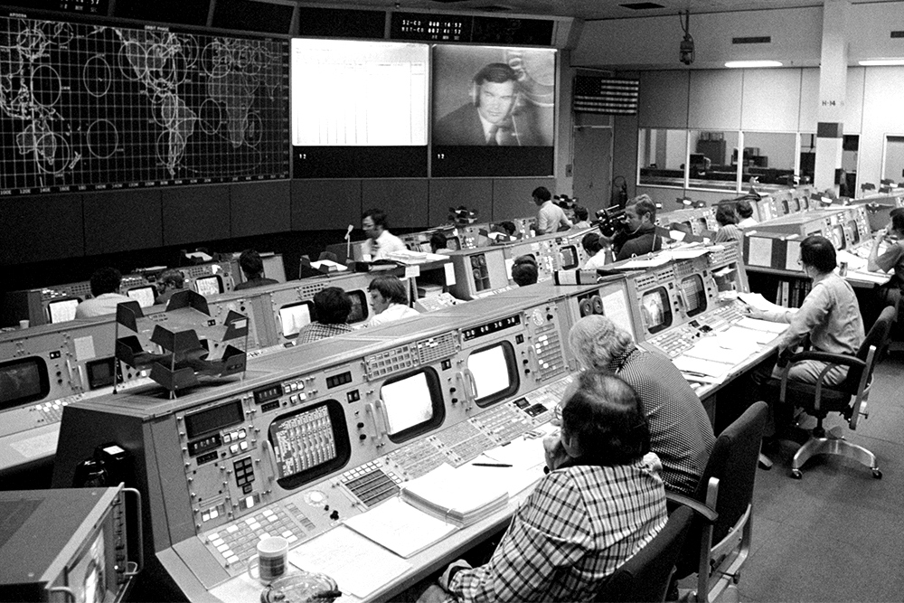 During the Gemini and Apollo space programs, NASA operated this mission control center in Houston. UVA students are building their own version to control a spacecraft of their own design that will be launched late in 2018. (NASA photo)