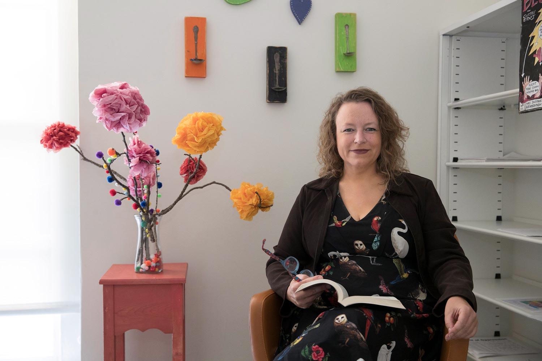 Lisa Speidel is an assistant professor in UVA's Department of Women, Gender & Sexuality.