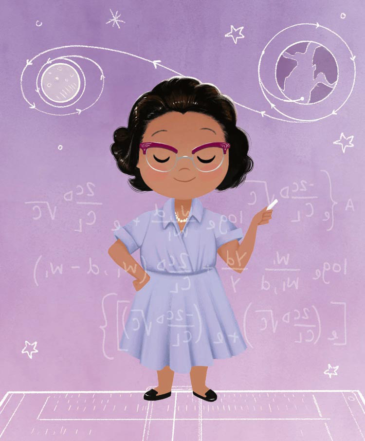 """NASA mathematician Katherine Johnson is one of 40 """"Little Leaders"""" in Harrison's best-seller. She included an index of 12 more leaders because it was so hard to narrow the field to 40 """"bold women."""""""