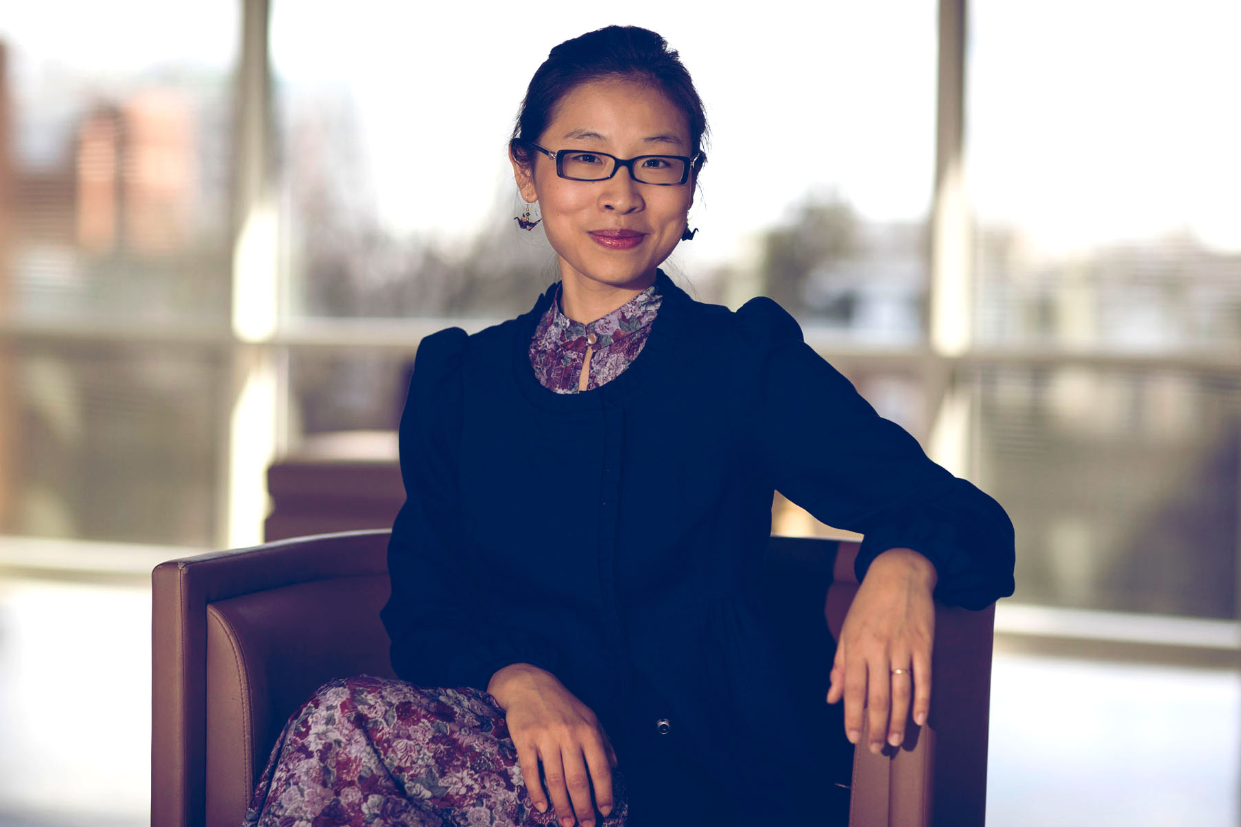 Liya Yu, a lecturer in UVA's Woodrow Wilson Department of Politics, is completing her Ph.D. dissertation at Columbia University.