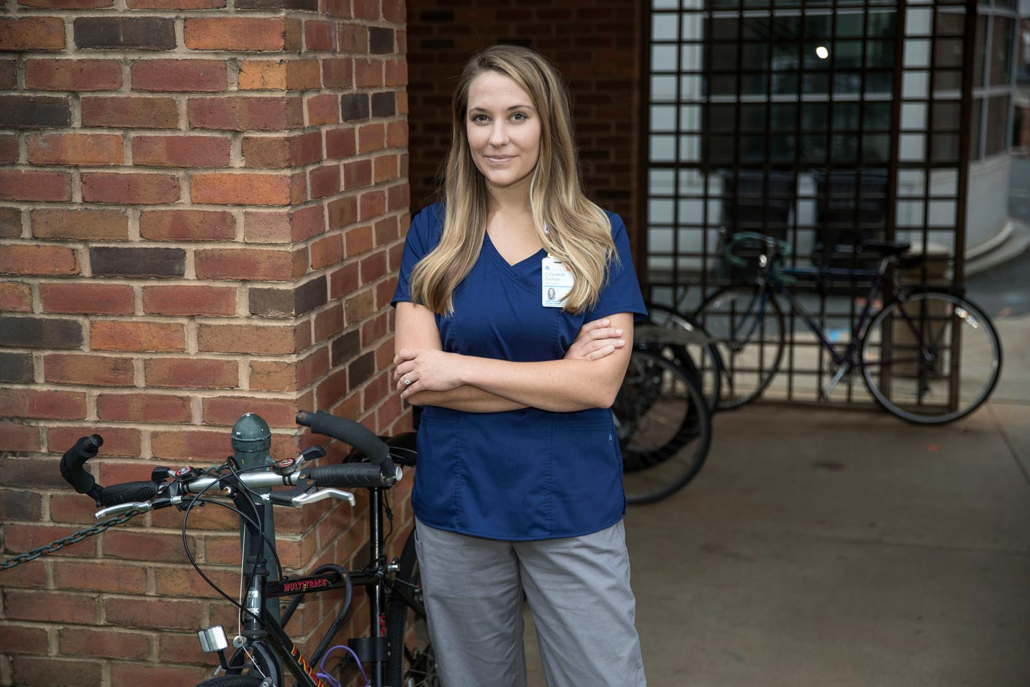 Knowing the rules of the road is just one way cyclists can protect themselves, according to UVA Health System injury prevention coordinator Liz Cochran.