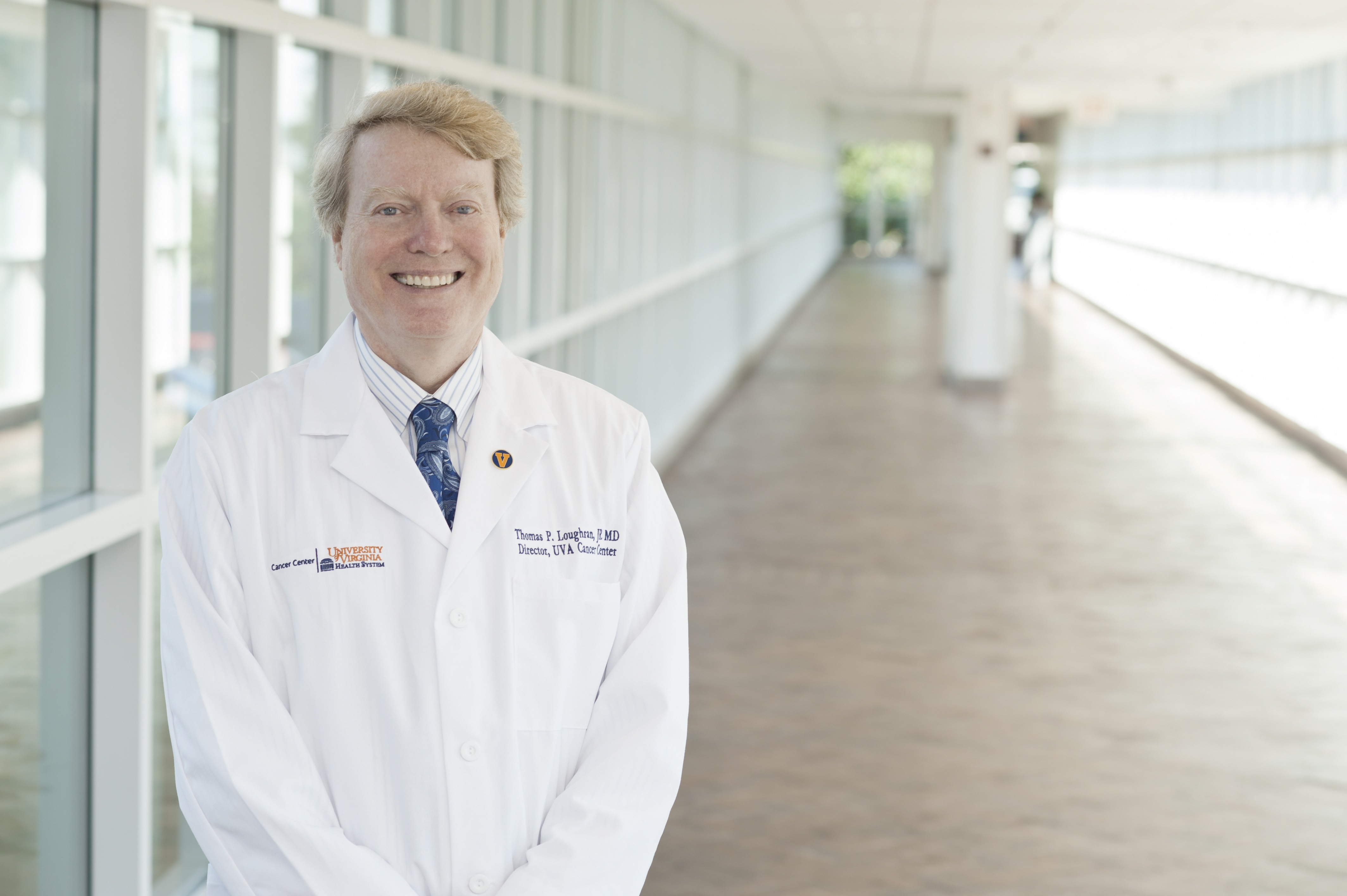 Dr. Thomas Loughran came to UVA seven years ago to lead the UVA Cancer Center.