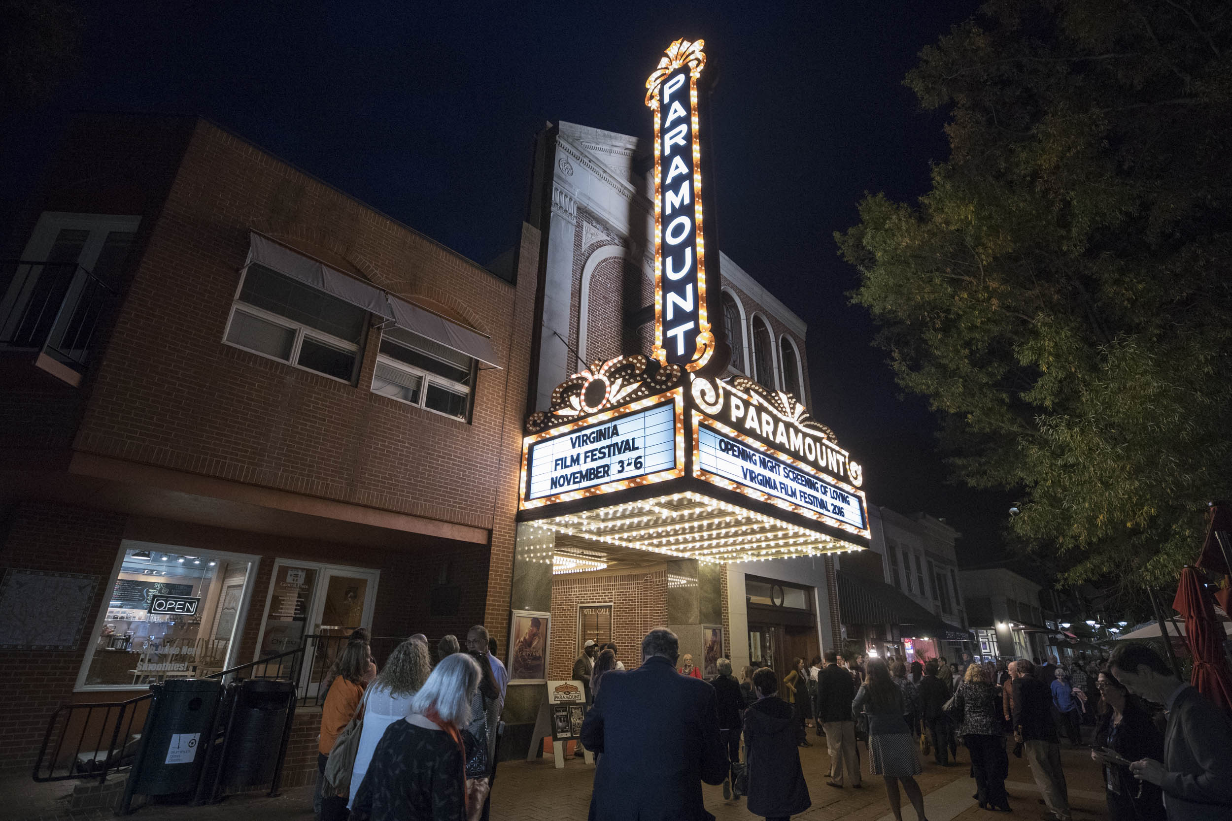 The Virginia Film Festival opened Thursday night.