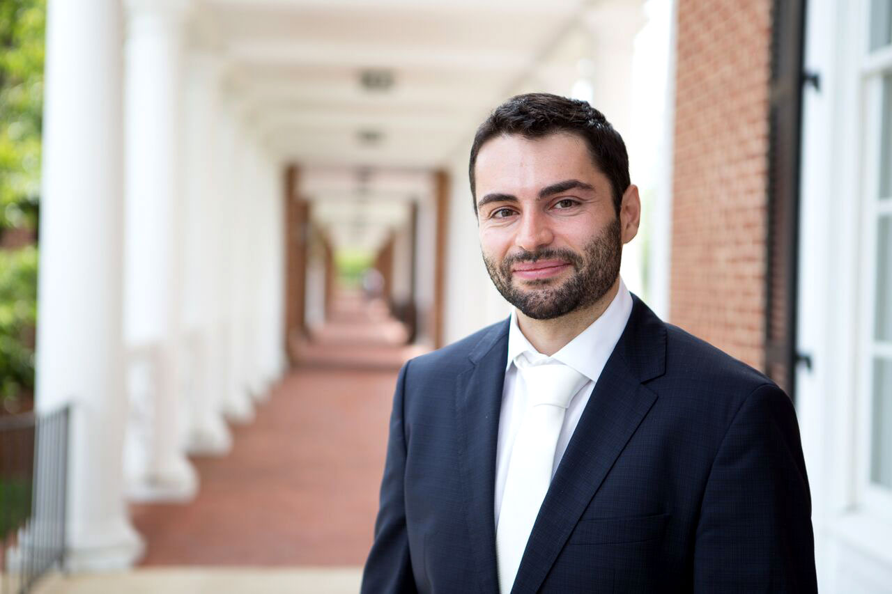 Luca Cian joined Darden as a marketing professor in last year, specializing in consumer behavior.