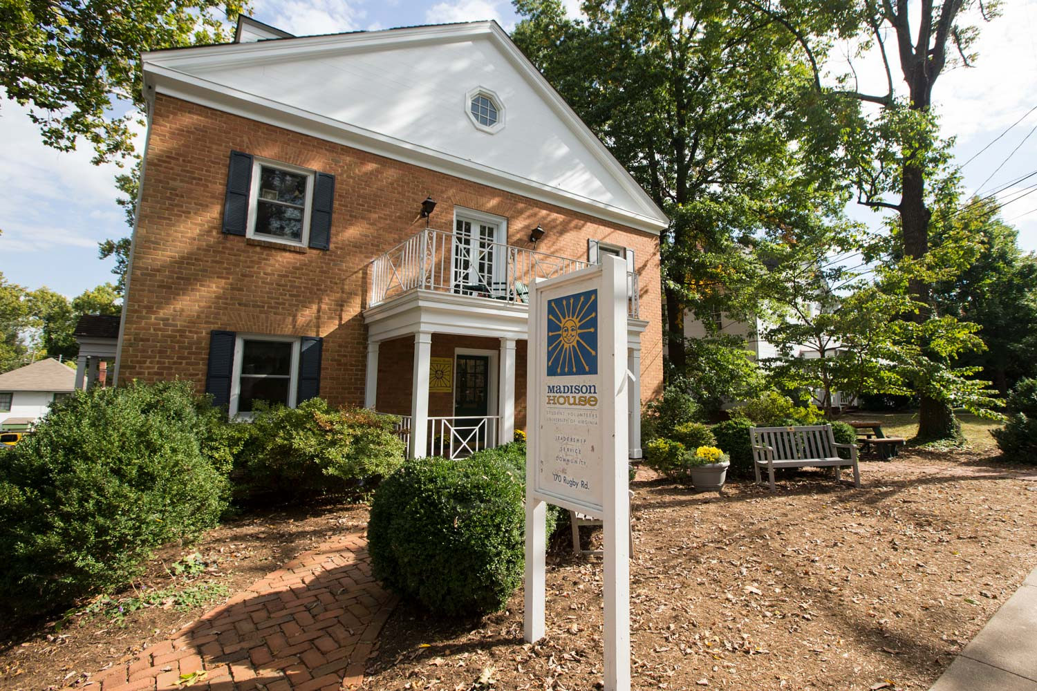 About half of all undergraduates will spend at least a year involved with Madison House, the student volunteer center at UVA.
