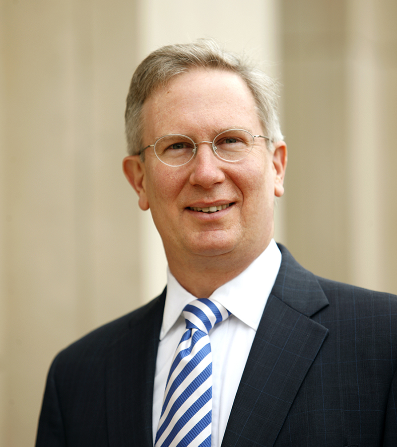 Paul Mahoney has served as dean of UVA's School of Law, one of the nation's top law schools, since 2008.