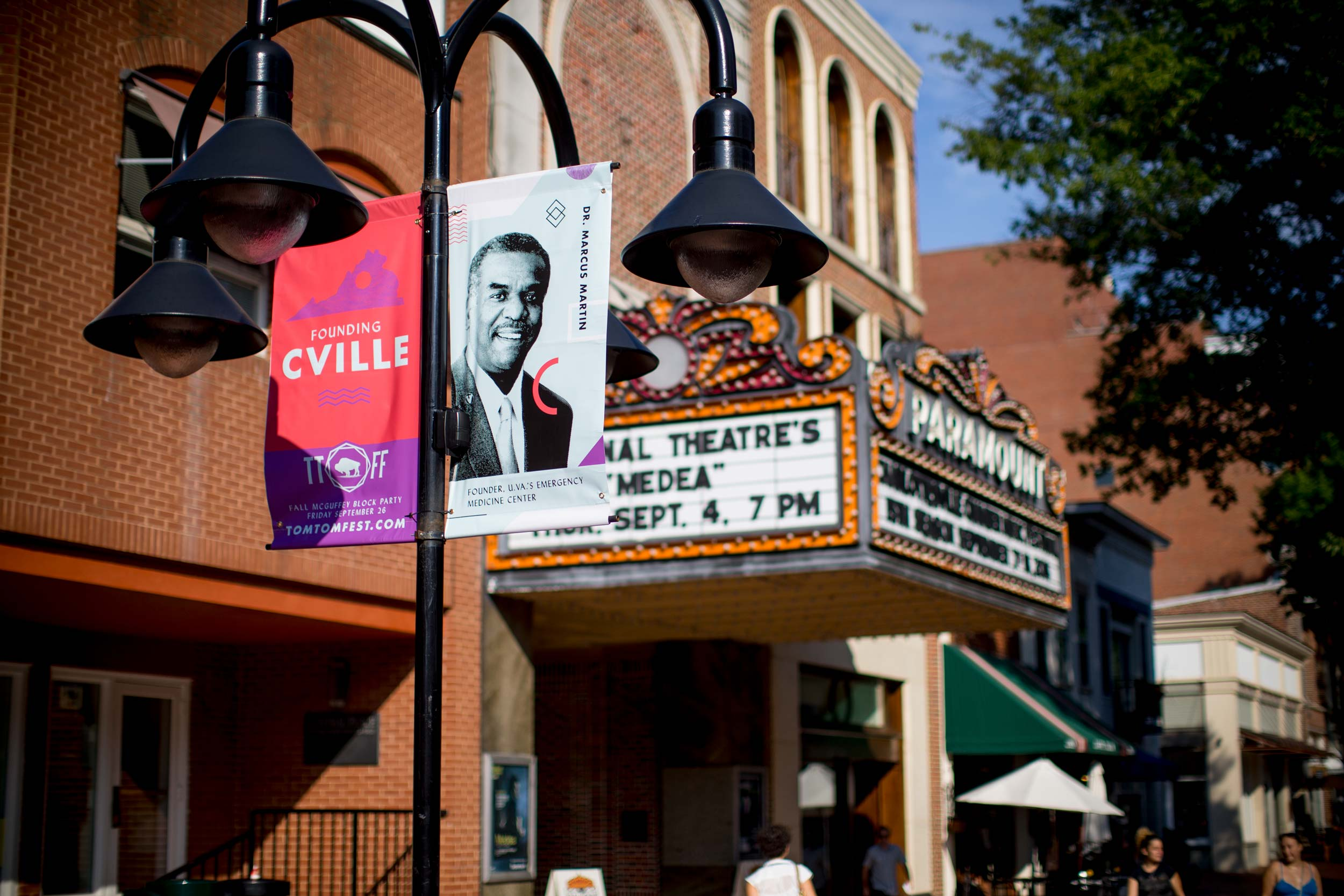 Among his many accolades, Martin received a Charlottesville Tom Tom Festival C'ville Founders Award in 2014. (Photo by Sanjay Suchak, University Communications)