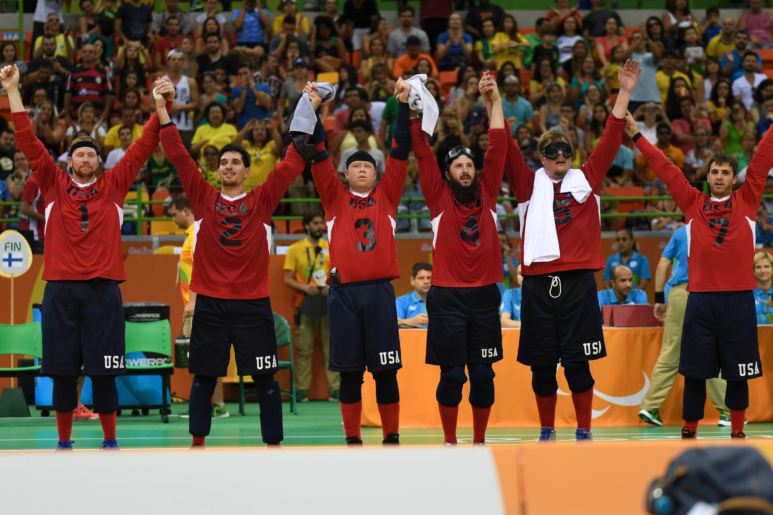 Simpson was part of the U.S. team that won a silver medal at the 2016 Paralympic Games in Rio de Janeiro. (Photo by Loren Worthington)