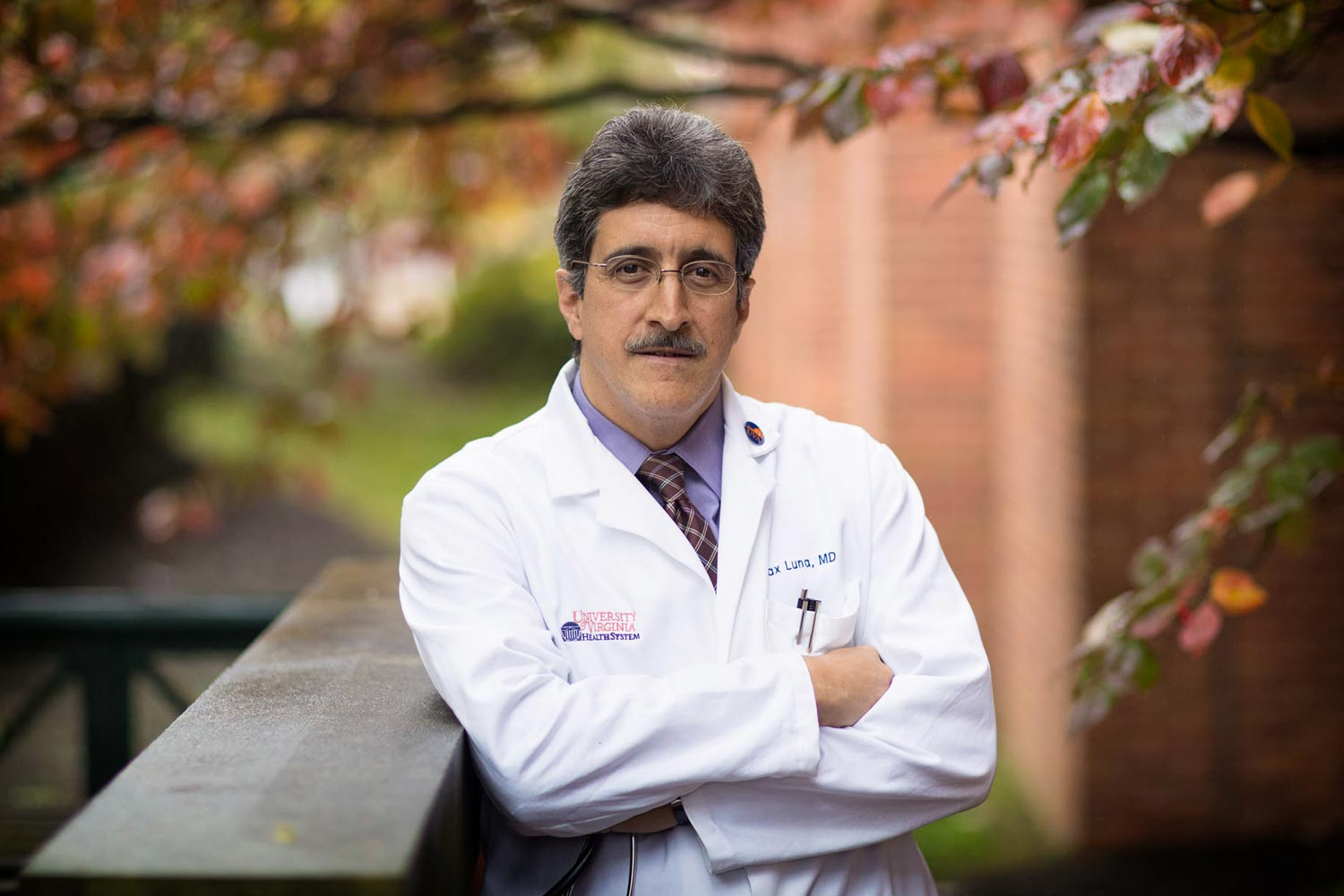 Dr. Max Luna founded the Latino Health Initiative last year to serve the local Latino community.