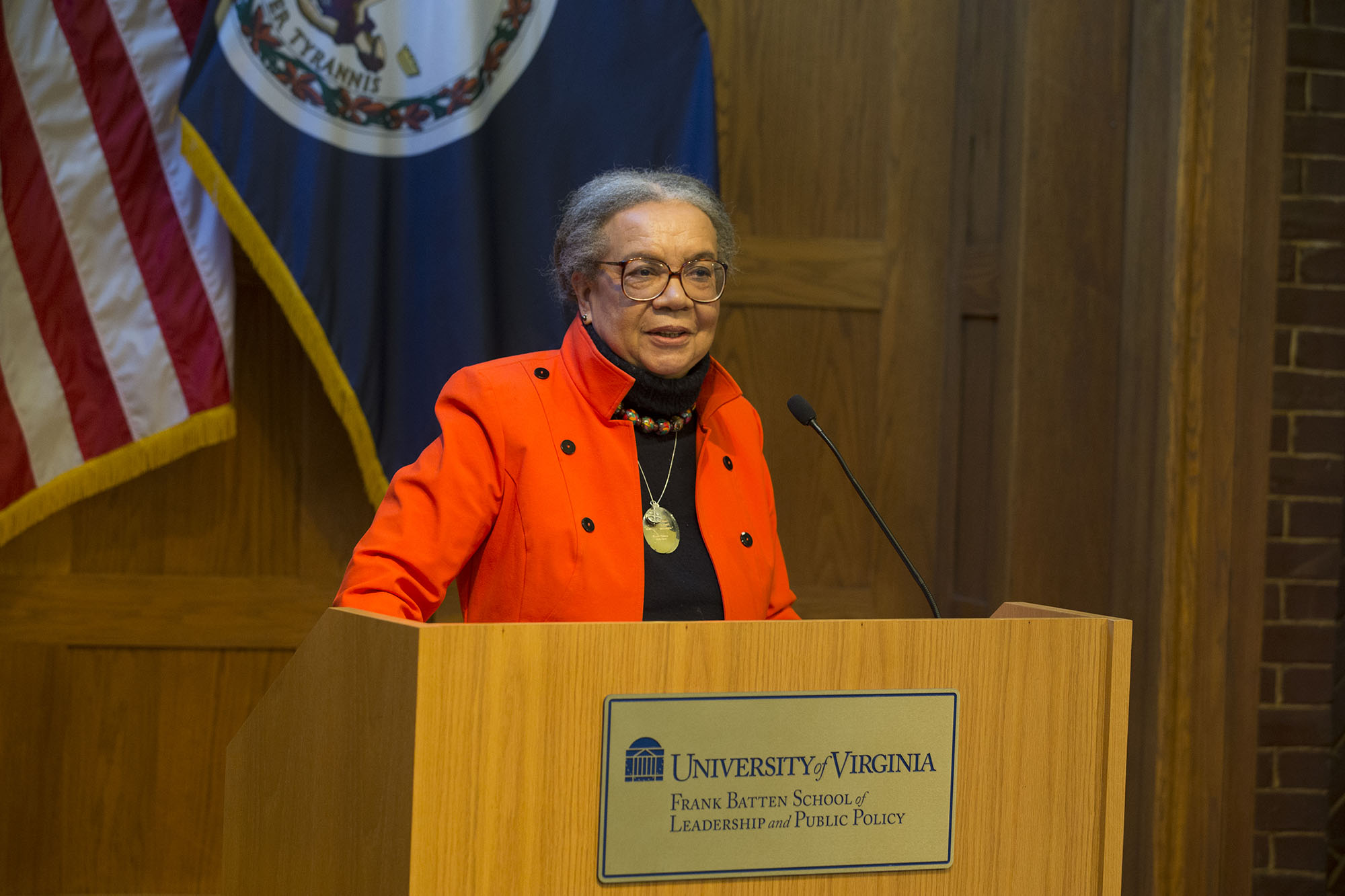 The Thomas Jefferson Foundation Medalist in Citizen Leadership, Marian Wright Edelman, said she hoped her Children's Defense Fund would be defunct by now.