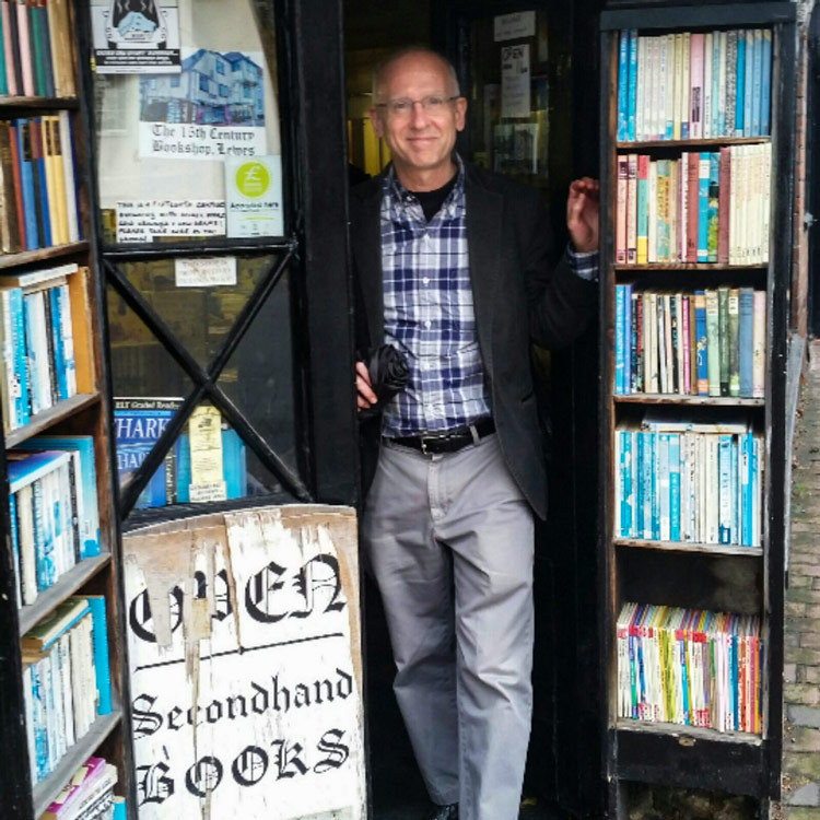 UVA English professor Michael Levenson, here in London in 2016, is the director of UVA's London First program.