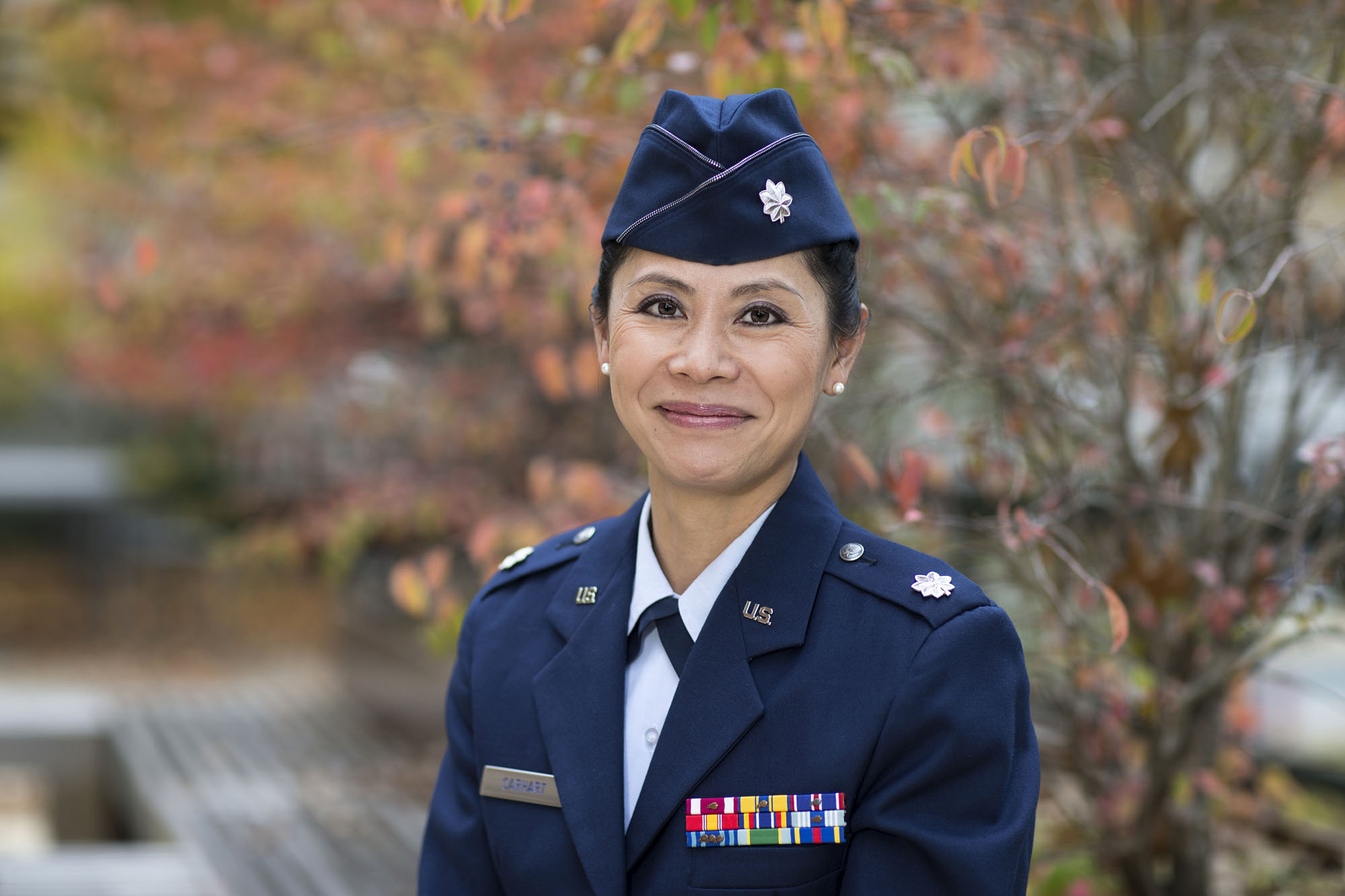 Air Force Lt. Col. Mia Carhart