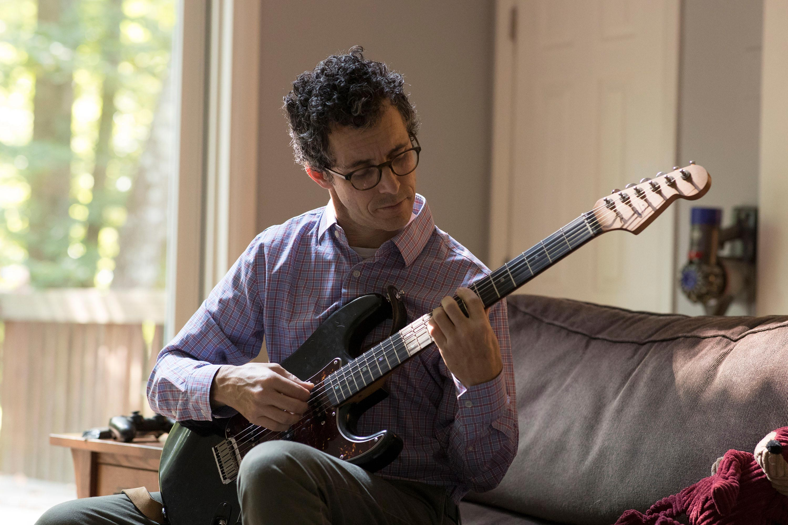 Efron has been playing the guitar since he was a young kid and has recently been tackling Bach violin sonatas on guitar.