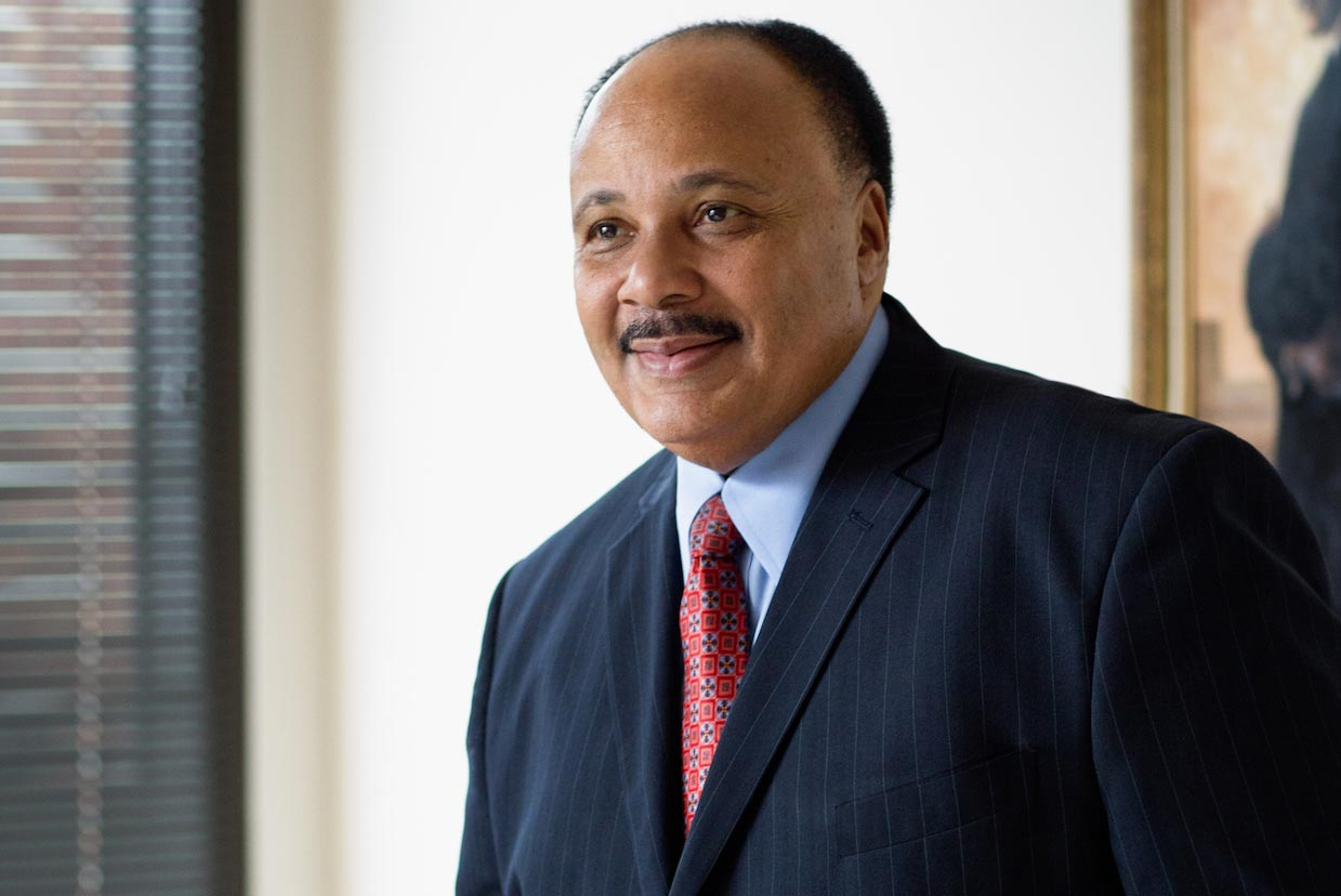 Like his father, Martin Luther King III has dedicated his life to civil rights and humanitarian causes.