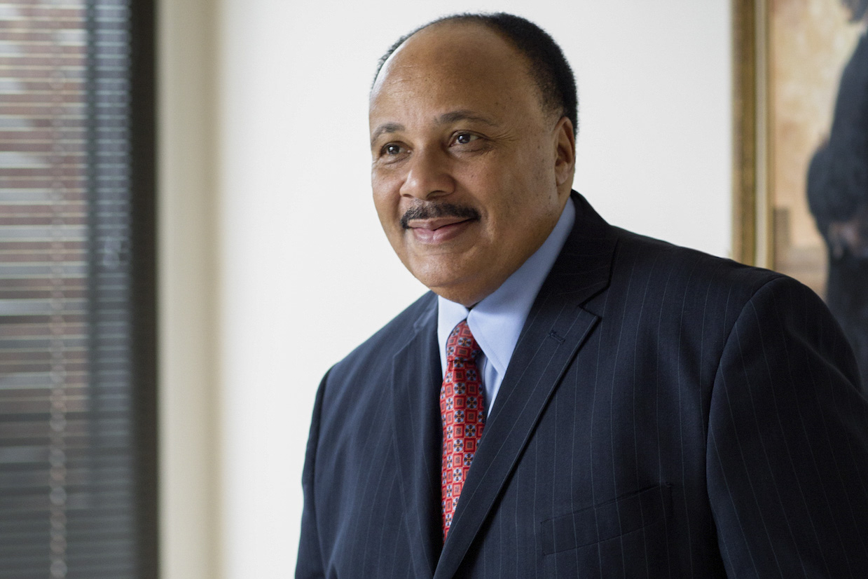 """Martin Luther King III, who has followed in his father's footsteps as a civil rights activist, will discuss the documentary, """"Charlottesville."""""""