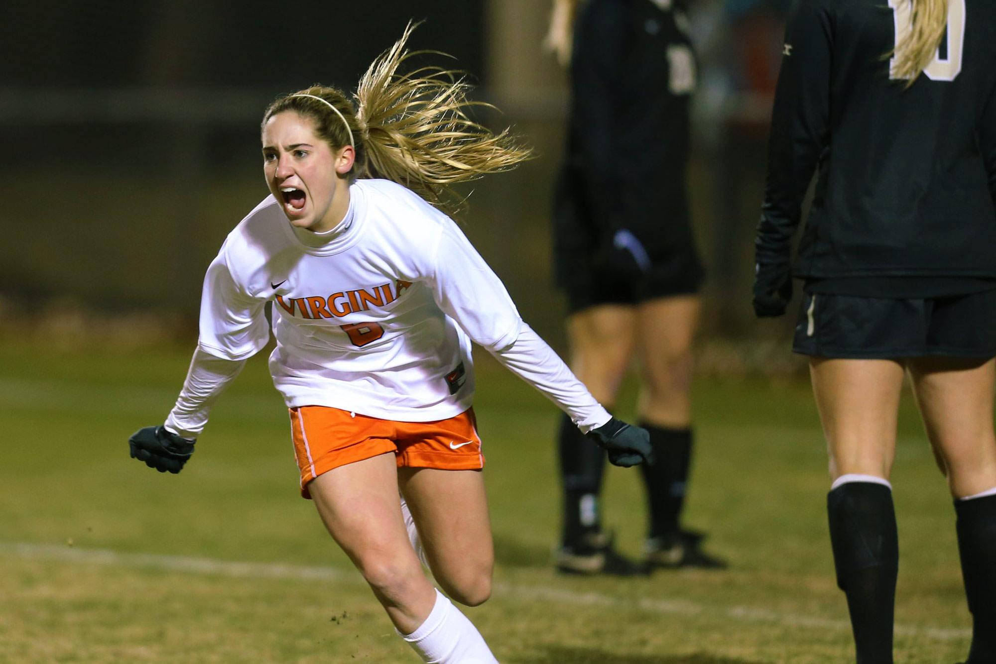 """""""This was the coldest game I ever played in at UVA,"""" Brian said. """"It was around 15 degrees. We beat Wake Forest 2-0 and dominated them."""""""