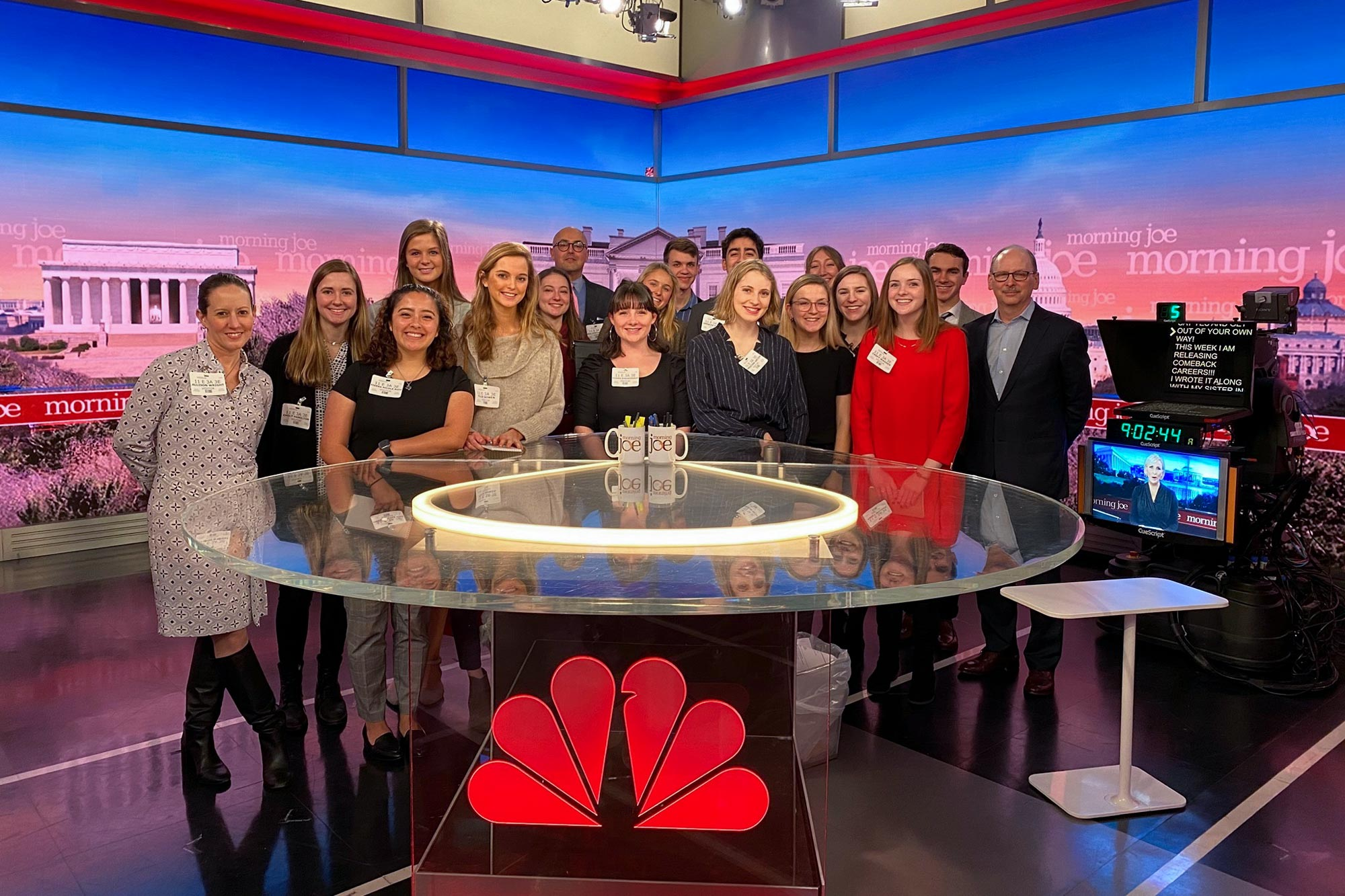 """""""Journalism in NYC"""" requires students to interact with leaders in the field in a professional environment."""