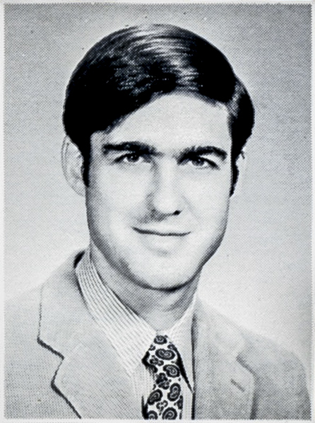 Robert Mueller's 1973 UVA Law School yearbook photo (Photo courtesy of UVA Law Library)