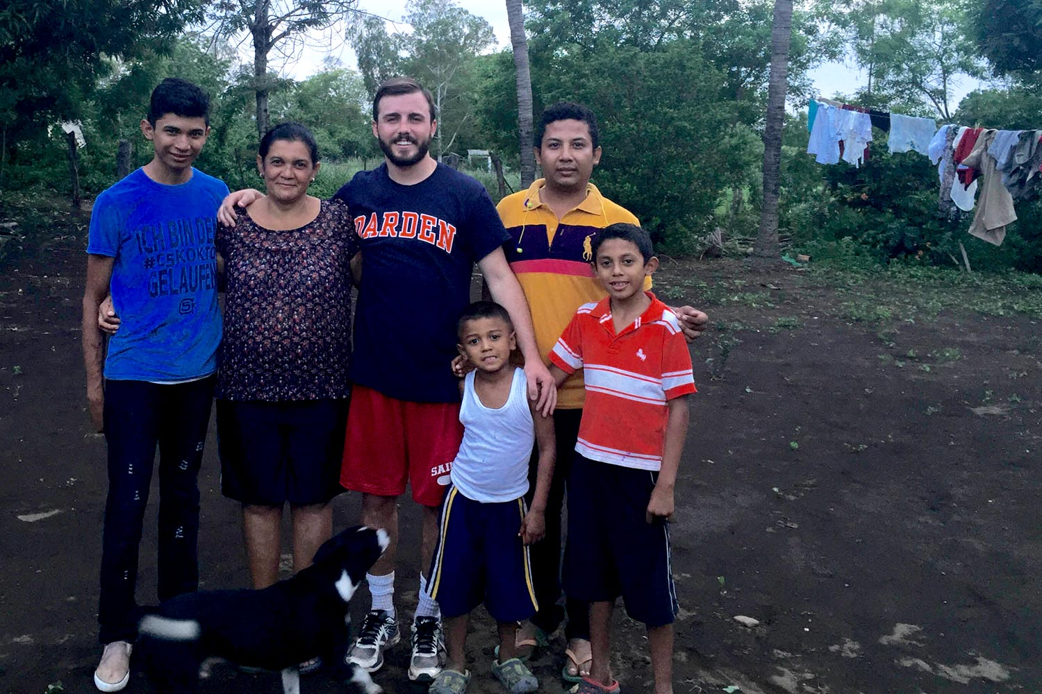Nick Molloy, a 2013 alumnus, used the time between leaving his corporate finance job and beginning his graduate studies at the Darden School of Business this fall to stay with a host family in Nicaragua, where he worked on a model farm project and a micro
