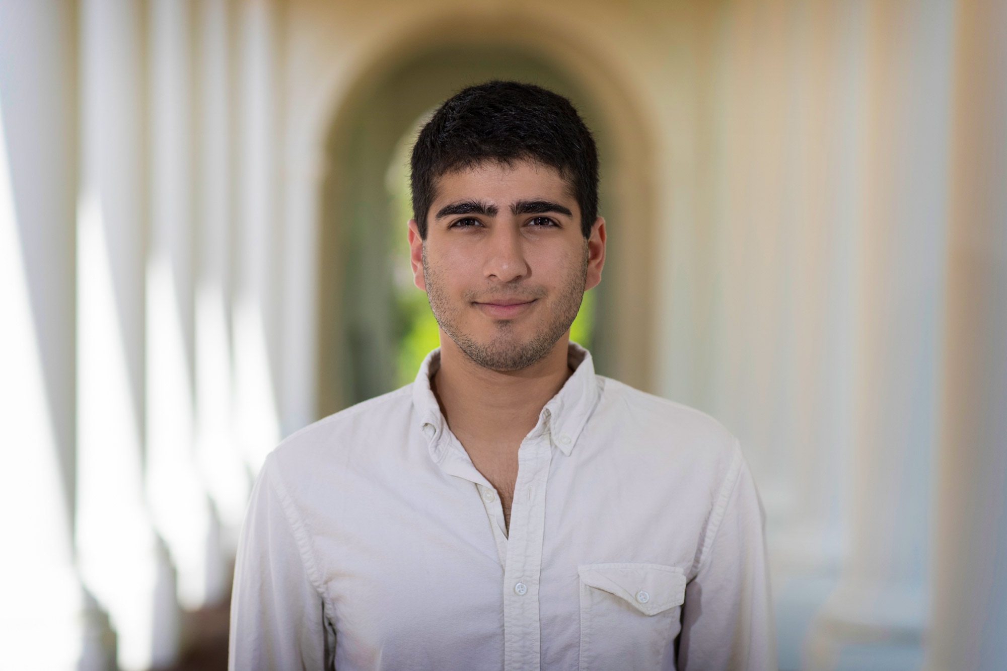 Daniel Naveed Tavakol will research tissue engineering at the École Polytechnique Fédérale de Lausanne in Switzerland. (Photo by Dan Addison, University Communications)