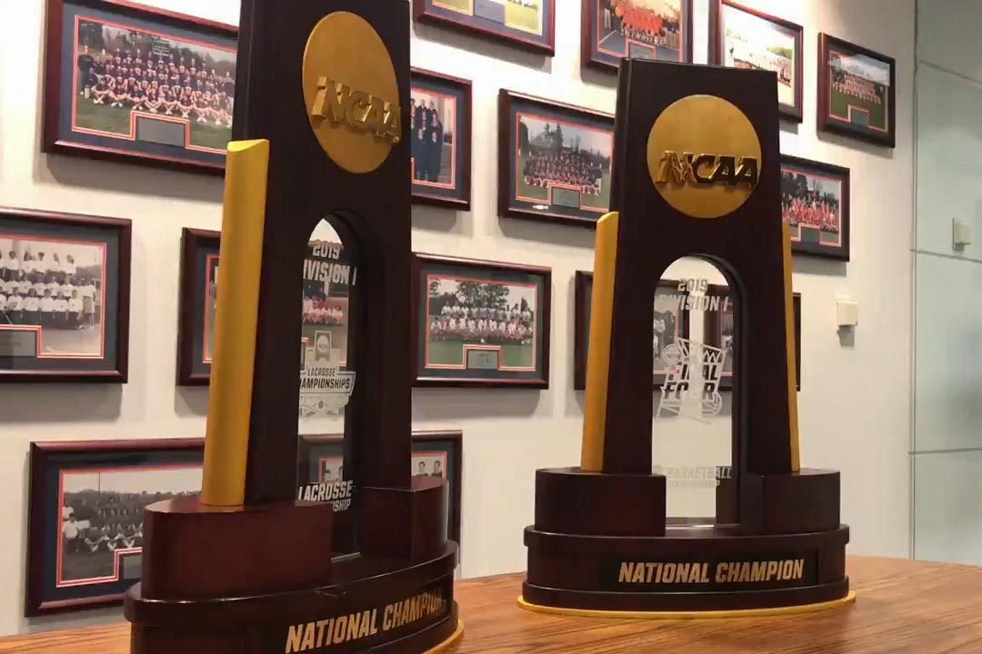 After its wins in men's basketball and men's lacrosse, UVA now has 27 NCAA team championships.