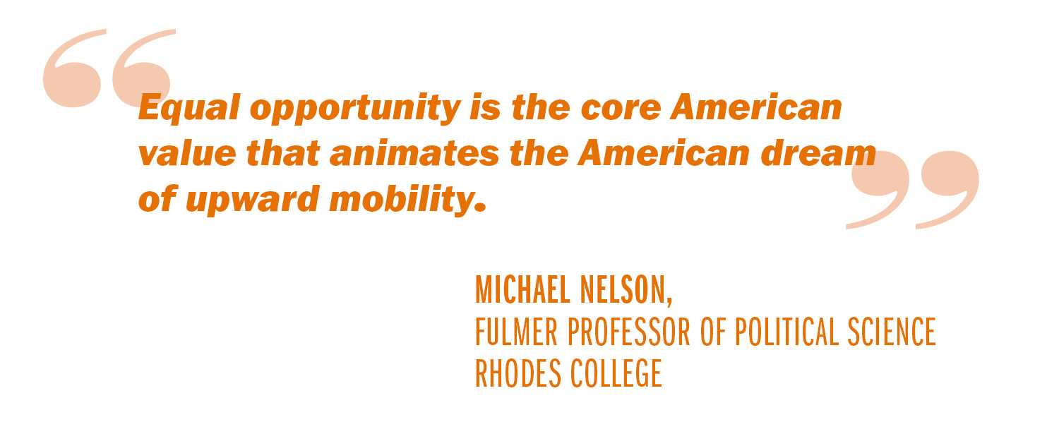 advice to a new president reviving the american dream uva today nelson quote