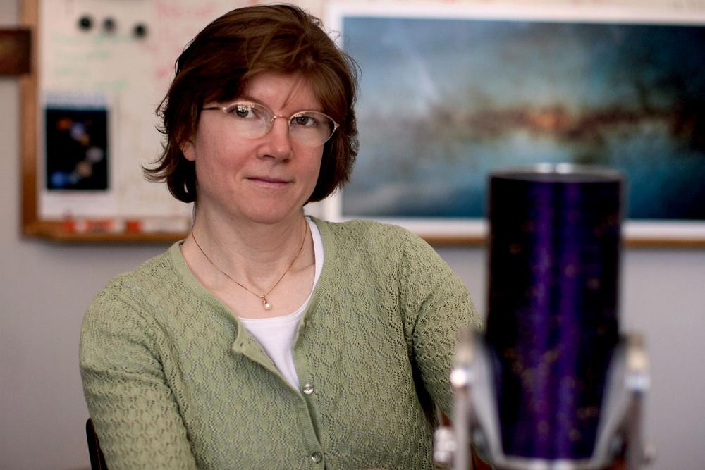 UVA planetary astronomer Anne Verbiscer served as a participating scientist with the Cassini mission.