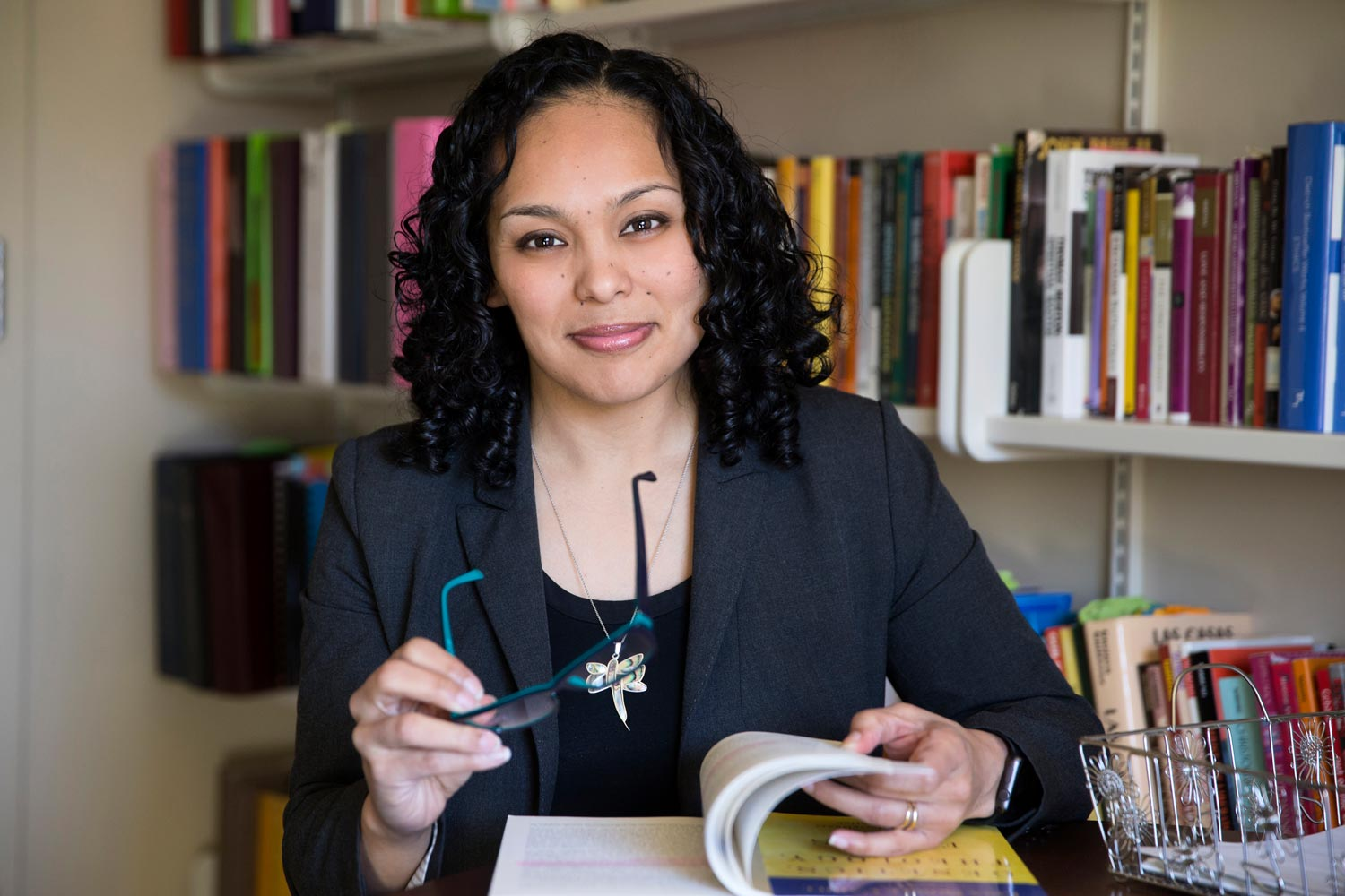 Nichole Flores is an assistant professor in UVA's religious studies department who specializes in Catholicism.
