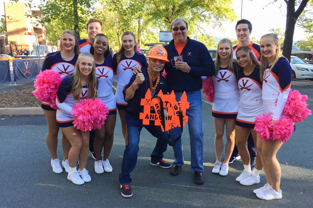 Patasomcit is something of a cheerleader in his own right, frequently appearing on live broadcasts – and in promotional spots.