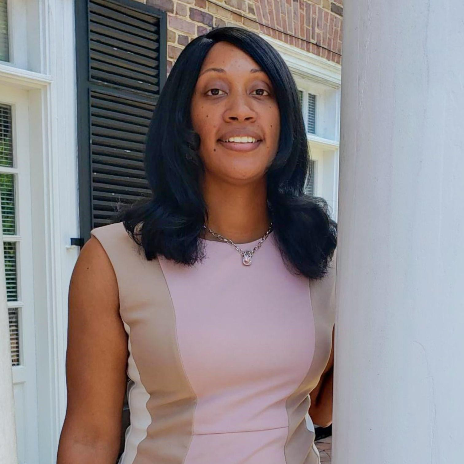 NyShae Carter has helped to invigorate the Black Faculty & Staff Employee Resource Group.