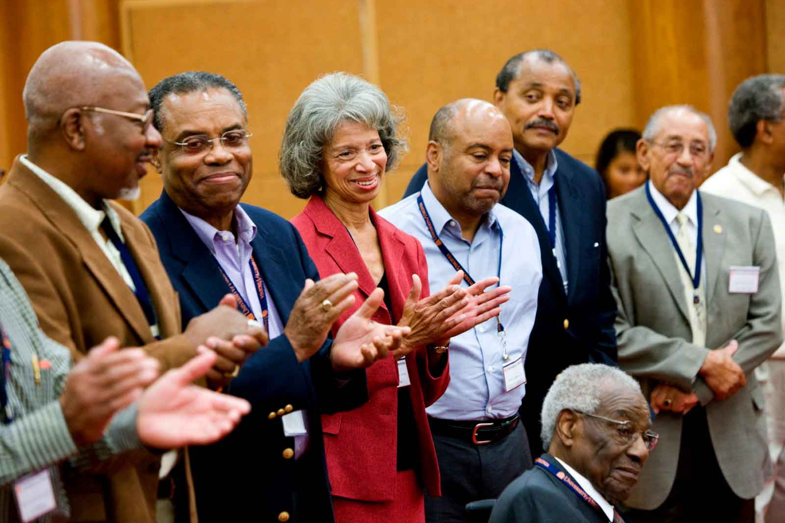 The Office of African-American Affairs helped plan an alumni reunion in 2009 for the earliest black students who attended in the 1950s and '60s.